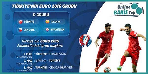 euro 2016 rakiplerimiz