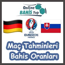 Almanya - Slovakya