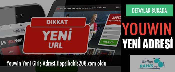 Youwin Yeni Giriş Adresi Hepsibahis208.com oldu