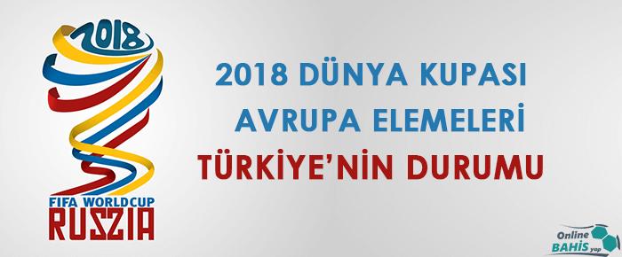 2018 Dünya Kupası Elemeleri Türkiye