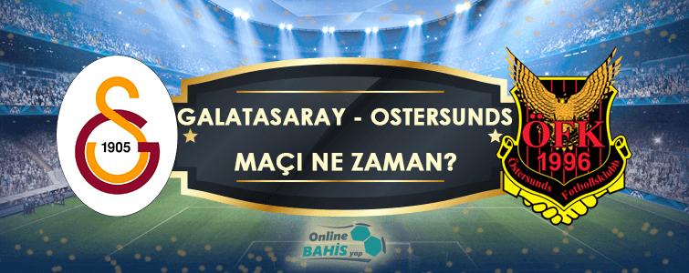 Östersunds Galatasaray Maçı Ne Zaman? Hangi Kanalda? Saat Kaçta?