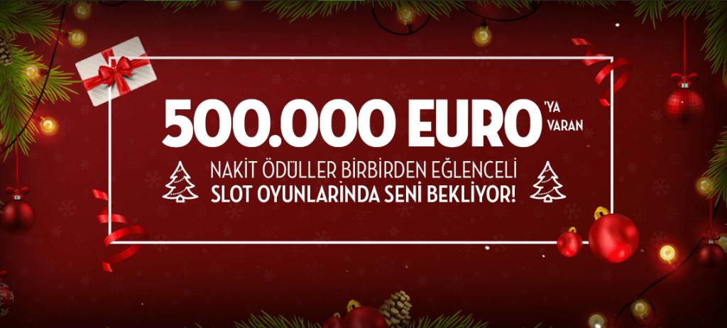 Bets10 Yeni Yıl Slot Turnuvasında 500.000 Euro Nakit Ödül
