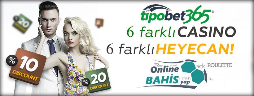 Tipobet365 Canlı Casino Seçenekleri