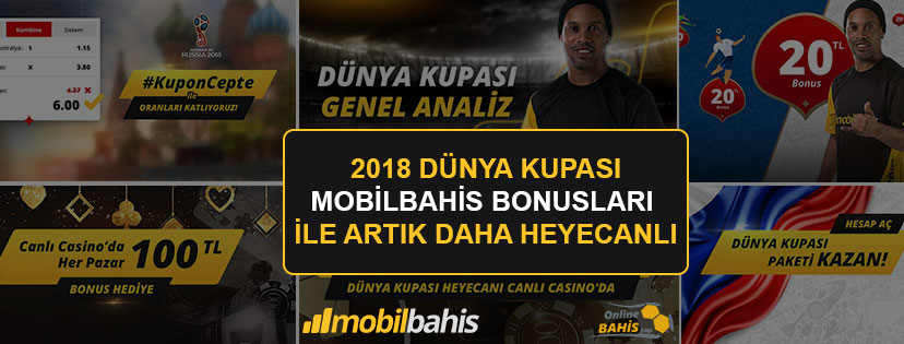 Mobilbahis Dünya Kupası Bonusları
